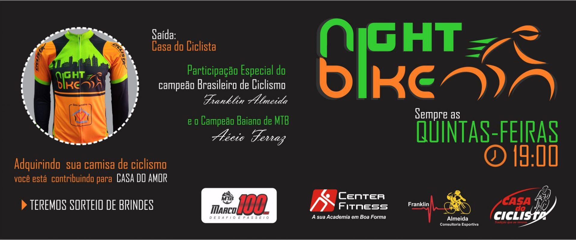 Pedal Noturno da Casa do Ciclista